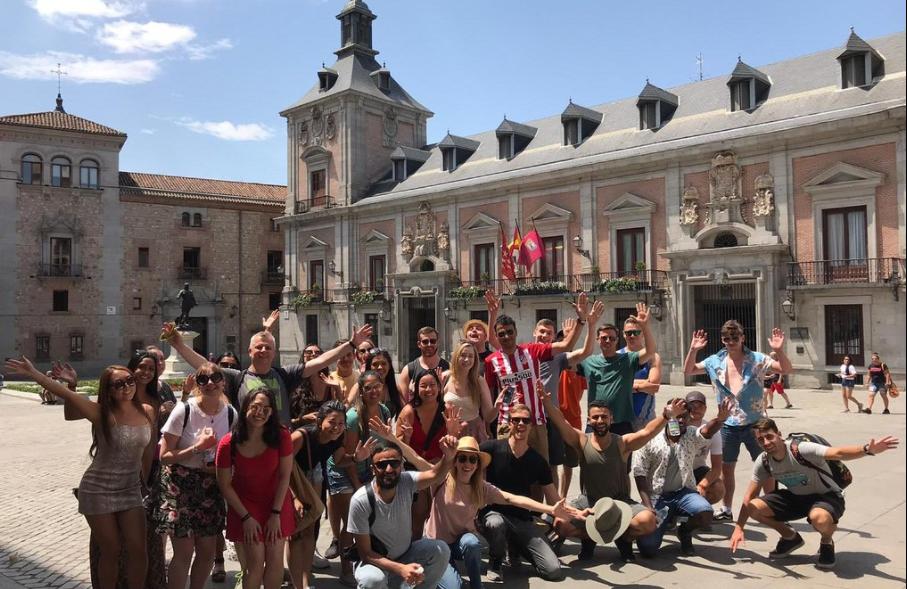 Free walking tour in Madrid Spain